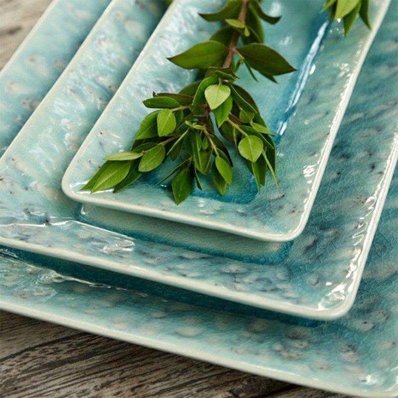 透明感が美しいポルトガルの食器、COSTA NOVAの マデイラ テーブルコーディネート例