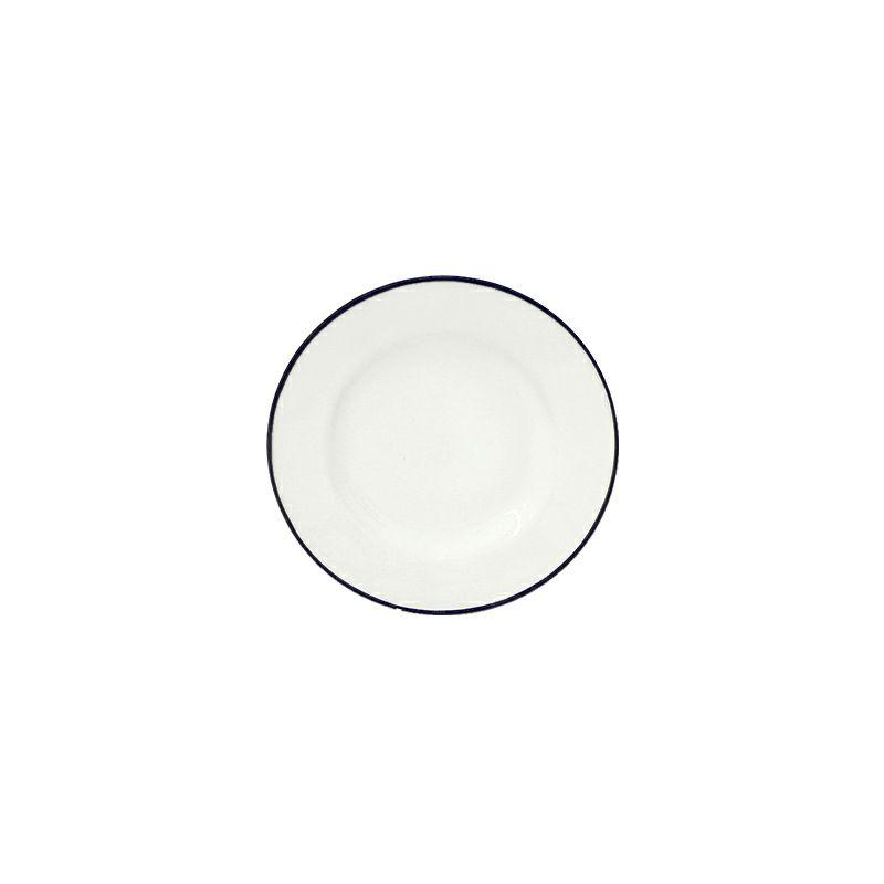 白と青のカラーが特徴のコスタ・ノバのベジャシリーズ。小さめサイズのブレッドプレートは、取り皿やデザート皿にもぴったり。